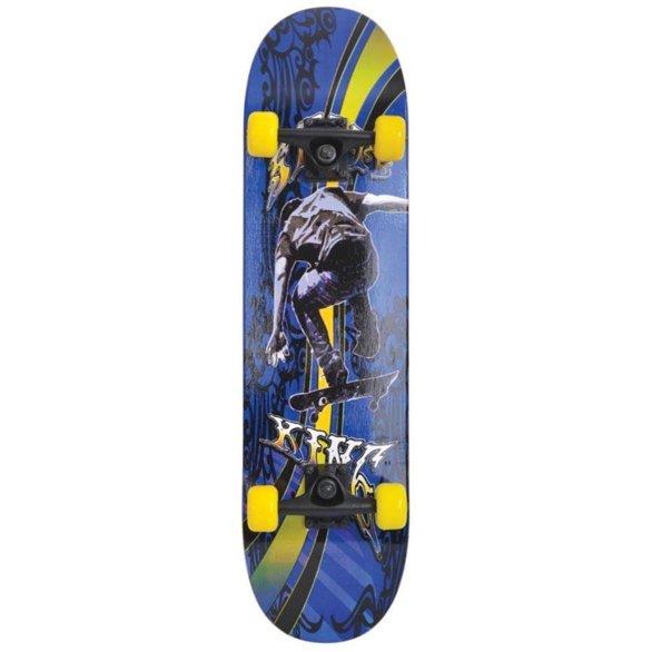 Deskorolka Schildkrot Slider Cool King niebiesko-żółto-czarna 510643
