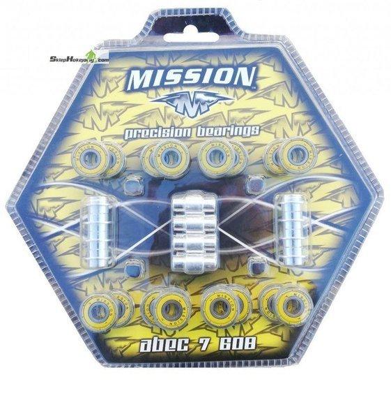 Zestaw łożysk z tulejami Mission RH ABEC 7
